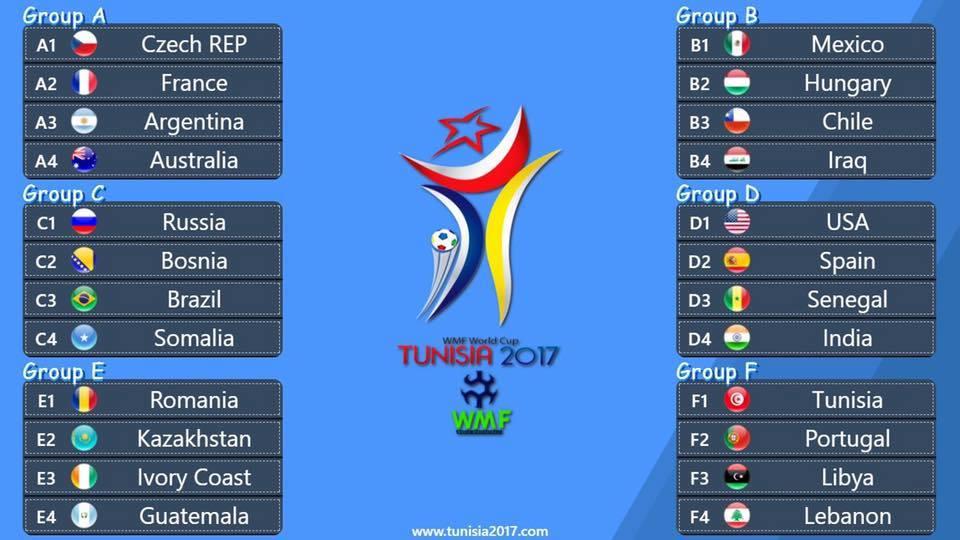 Októberben Minifoci Világbajnokság Tunéziában