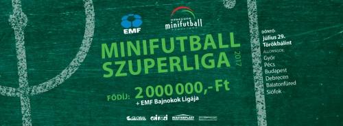 MINIFUTBALL SZUPERLIGA 2017